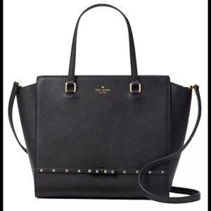 Kate Spade Laurel Way Jeweled handbag NWT
